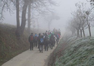 57 POHOD V NEZNANO - 8. december 2019, na poti od Grossmana do kmetije Vrbjak, 10.47