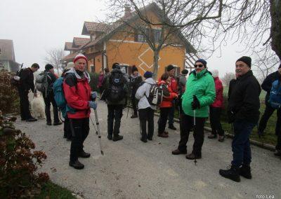 62 POHOD V NEZNANO - 8. december 2019, turistična kmetija Vrbjak, 10.13
