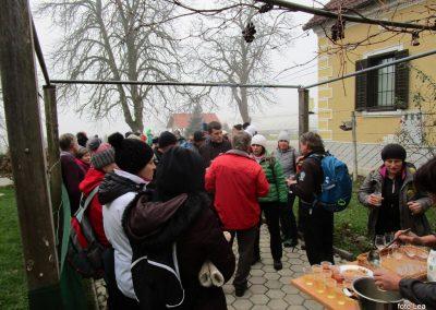 66 POHOD V NEZNANO - 8. december 2019, turistična kmetija Vrbjak, 10.26
