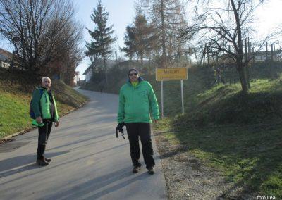 70 POHOD V NEZNANO - 8. december 2019, na poti od turistične kmetije Vrbjak do gostišča Žinko v Moravcih, 12.44