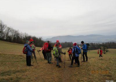 023 LIMBARSKA GORA 773m, vzpon s Krašnje na Limbarsko goro, 9.56