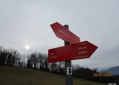 024 LIMBARSKA GORA 773m, vzpon s Krašnje na Limbarsko goro, 9.58
