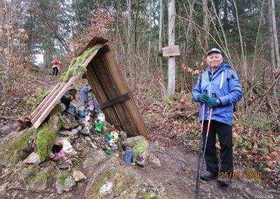 029 LIMBARSKA GORA 773m, vzpon s Krašnje na Limbarsko goro, 10.03