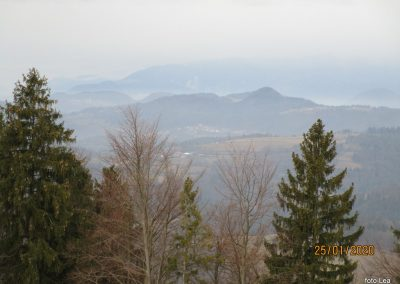 038 LIMBARSKA GORA 773m, vzpon s Krašnje na Limbarsko goro, 10.18