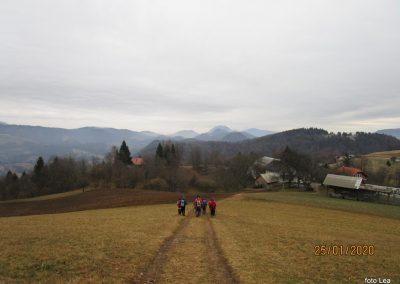 055 LIMBARSKA GORA 773m, na poti od Limbarske gore na Golčaj, 11.12