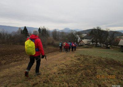 058 LIMBARSKA GORA 773m, na poti od Limbarske gore na Golčaj, 11.13