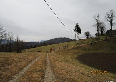 063 LIMBARSKA GORA 773m, na poti od Limbarske gore na Golčaj, 11.18