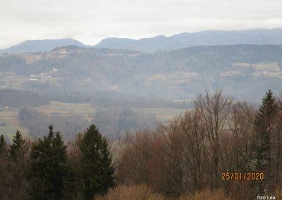 066 LIMBARSKA GORA 773m, na poti od Limbarske gore na Golčaj, 11.23