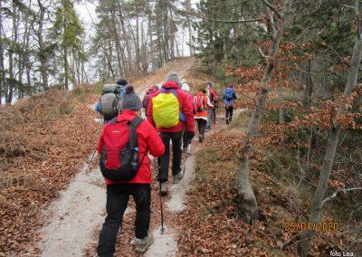 070 LIMBARSKA GORA 773m, na poti od Limbarske gore na Golčaj, 11.51