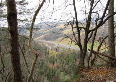 101 LIMBARSKA GORA 773m, na poti z Golčaja v Blagovico, 12.38